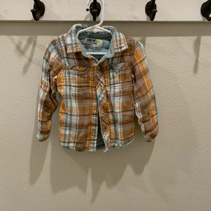 Oshkosh Flannel longsleeved shirt